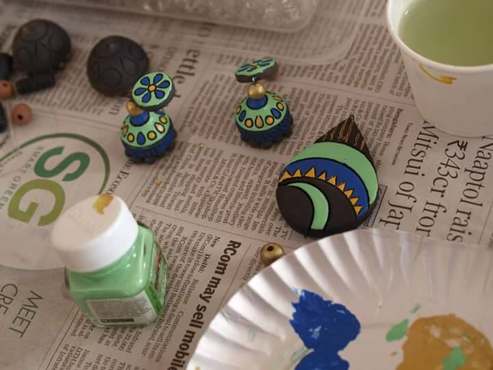 Making of Terracotta Jewelry-2