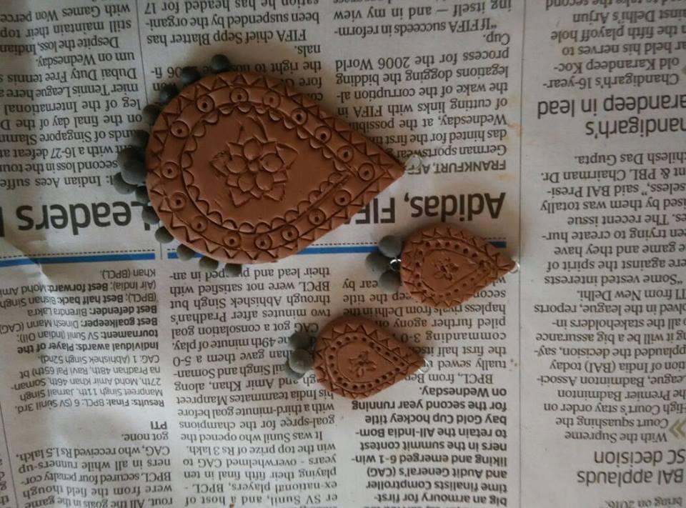 Making of Terracotta Jewelry