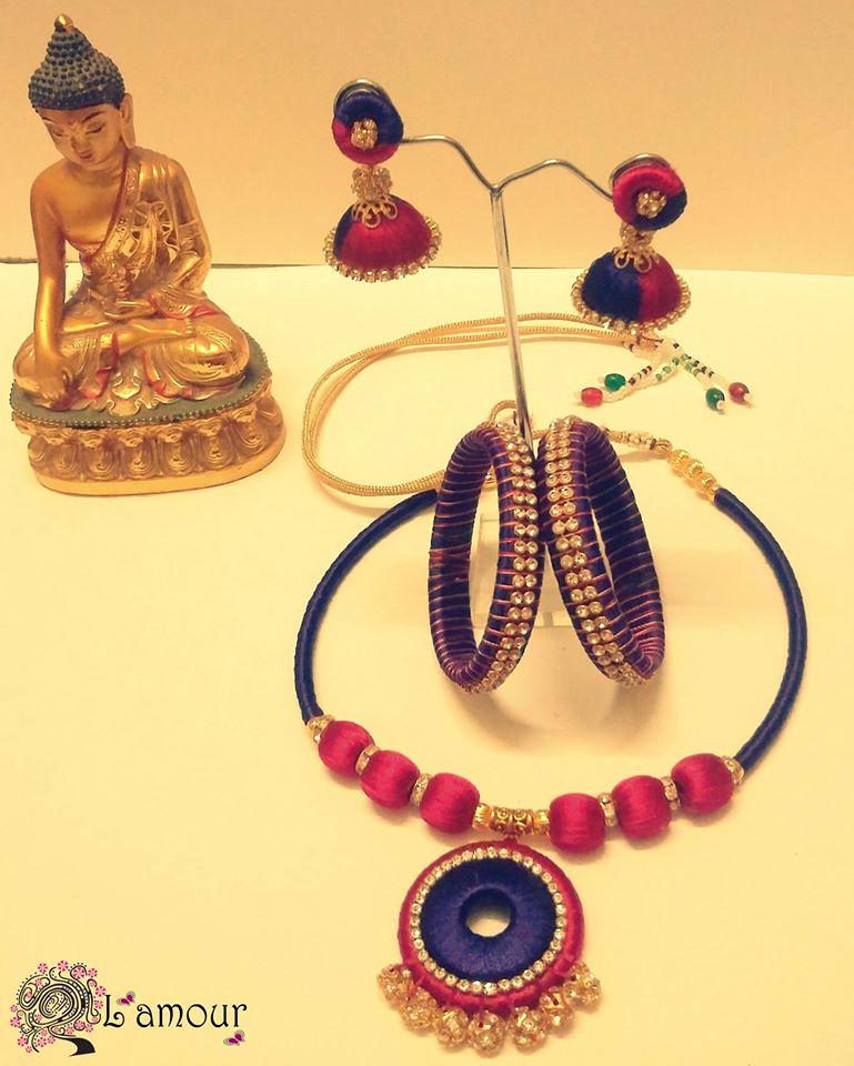 Elegant Terracotta Jewelry Set-2