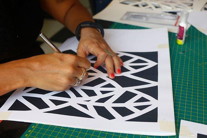 3D Paper Mosaic