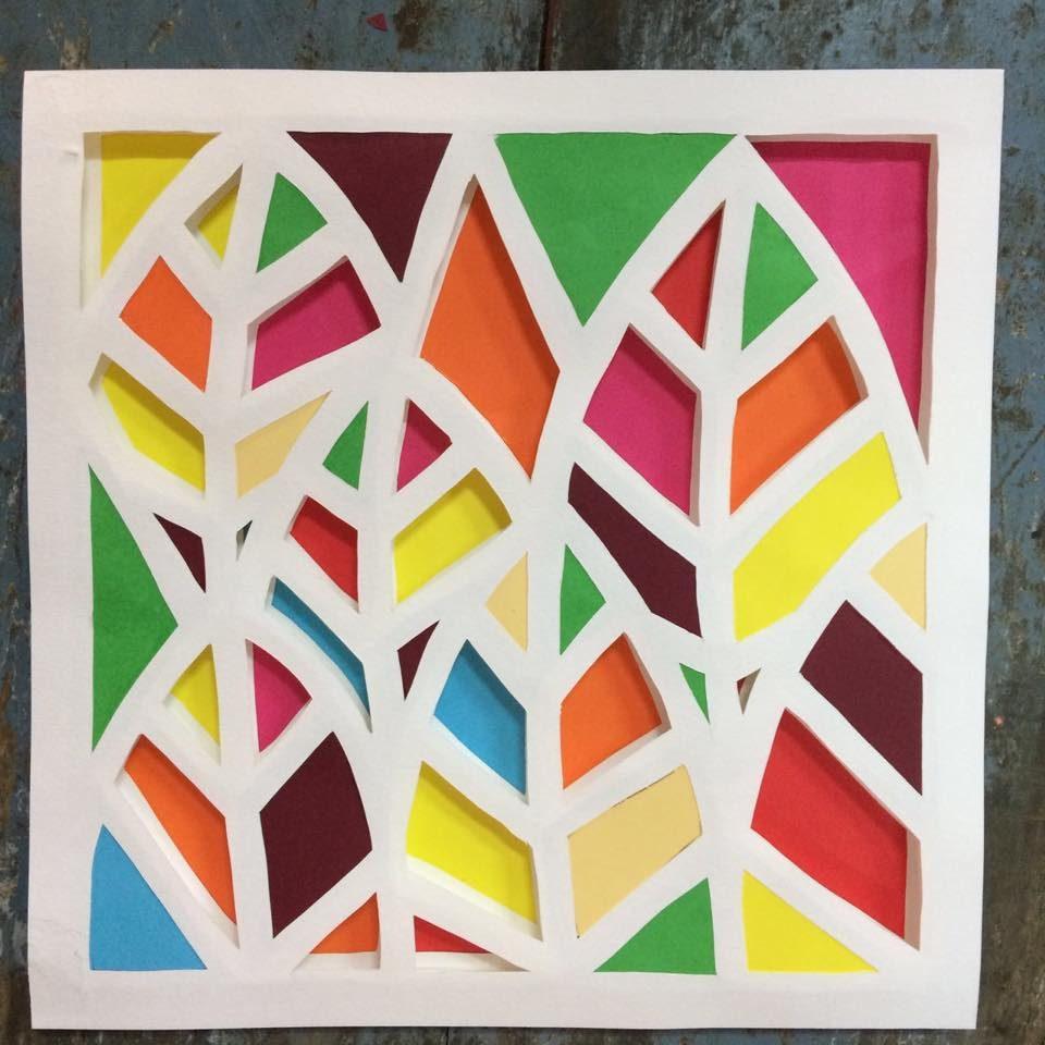 3D Paper Mosaic Workshop at bloomandgrow.in with Ritu Gera