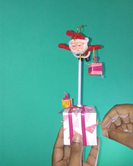 Flying Santa Paper Automata Workshop