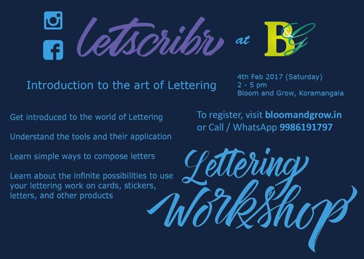 Introduction to Lettering for beginners