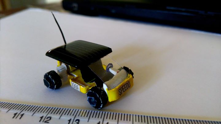 Miniature car model & Solar model Classes at Bloom & Grow -9