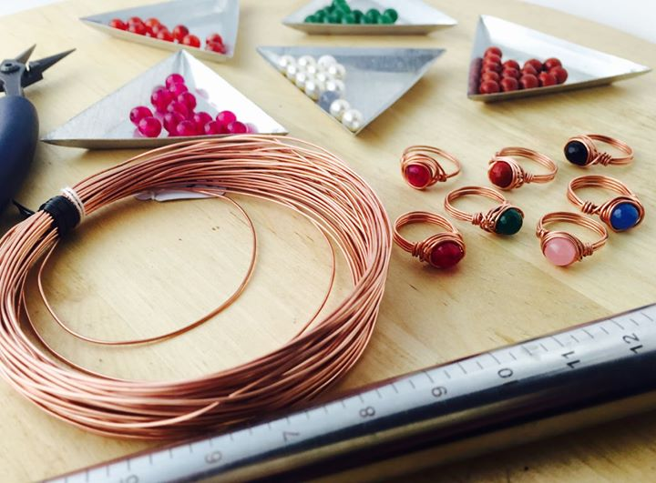 Introduction to Wire Jewelry – Summer camp