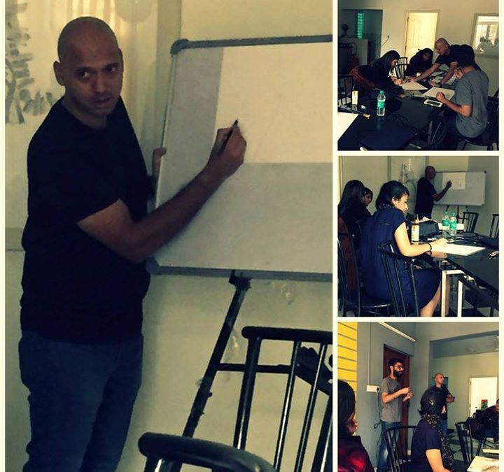 Weekend art classes by Grune & Black