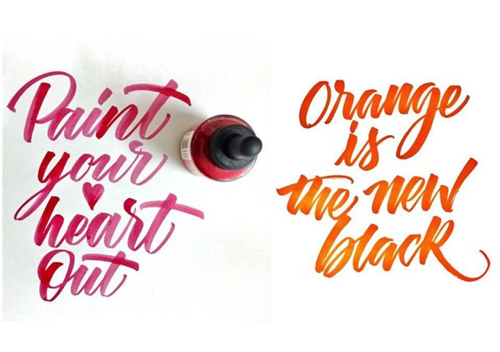Brush Lettering and Introduction to Modern Calligraphy