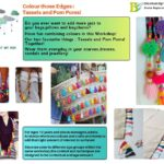 Tassels and Pom-Poms at Bloom and Grow Koramnagala Summer camps in Bangalore