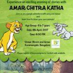 Amar Chitra Katha Story telling and cartoon drawing