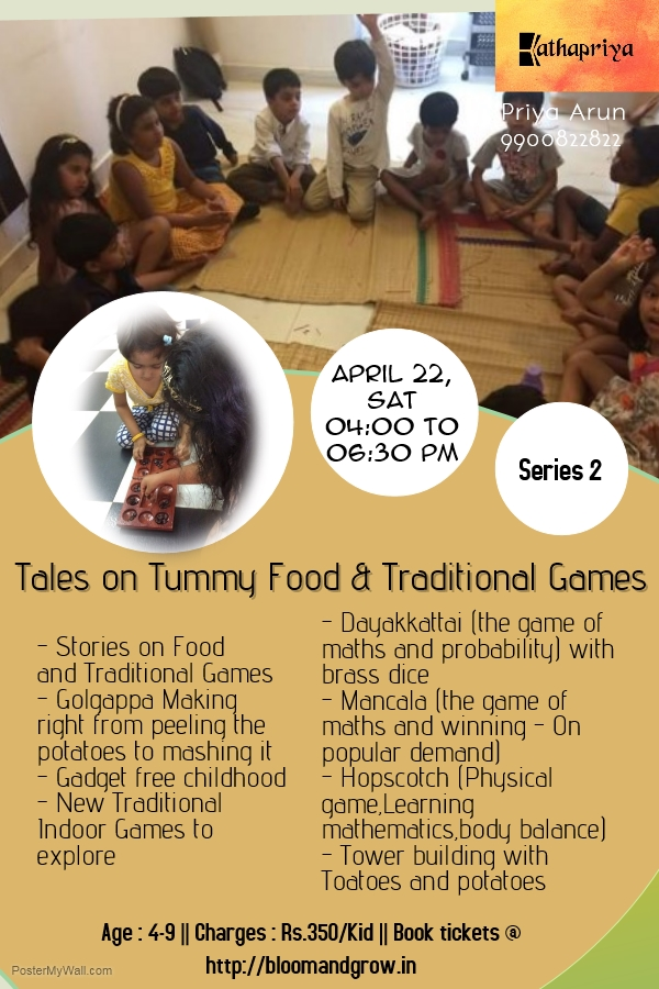 Kids activities in bangalore this week