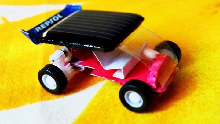 Miniature Solar Powered Car