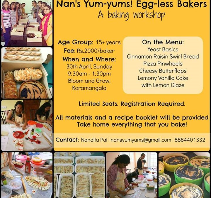 Nan's yum yums eggless bakers for 15+years