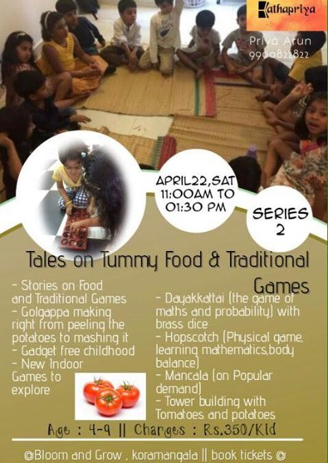 Tales on tummy food and traditional games -2