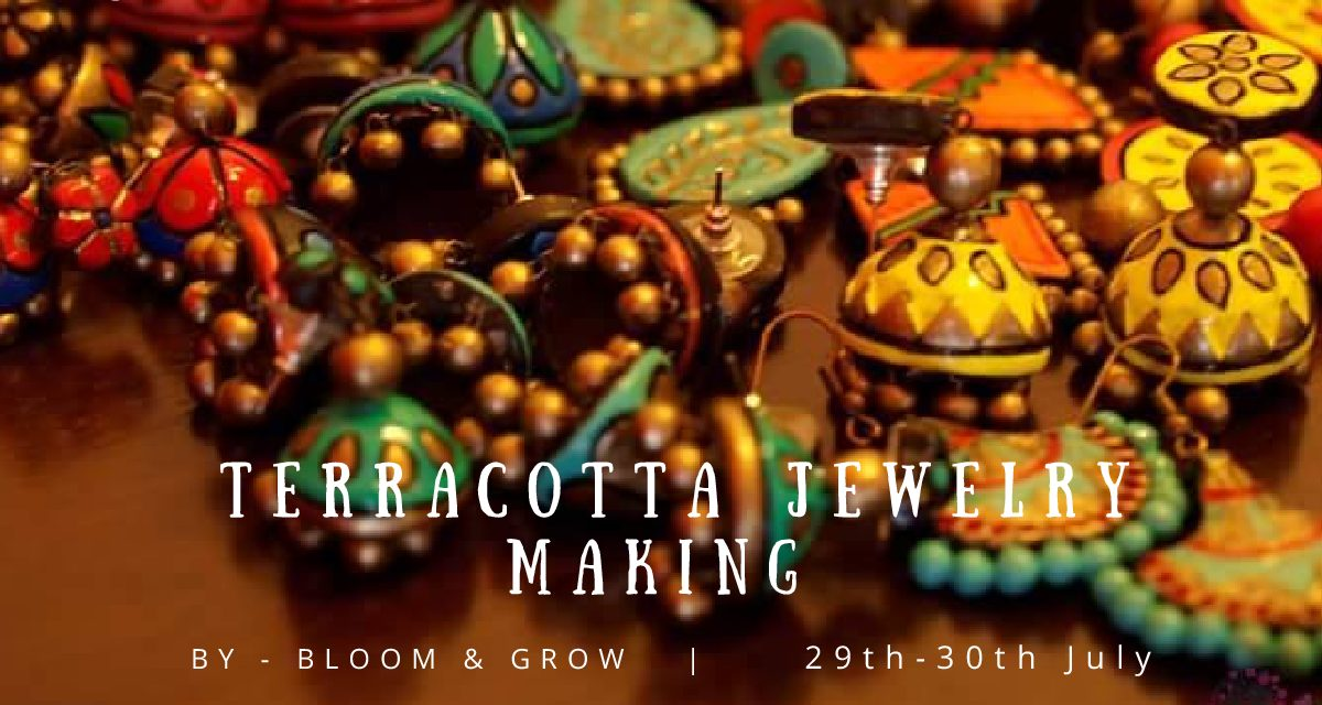 Terracotta Jewelry making