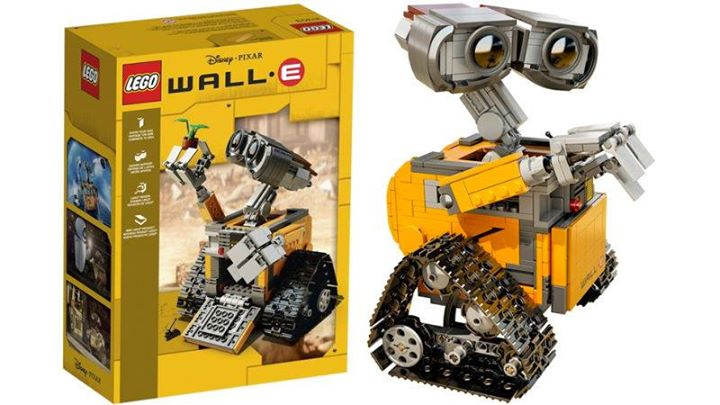 Build the Wall E & Sphinx (LEGO Community build for 7-12years)
