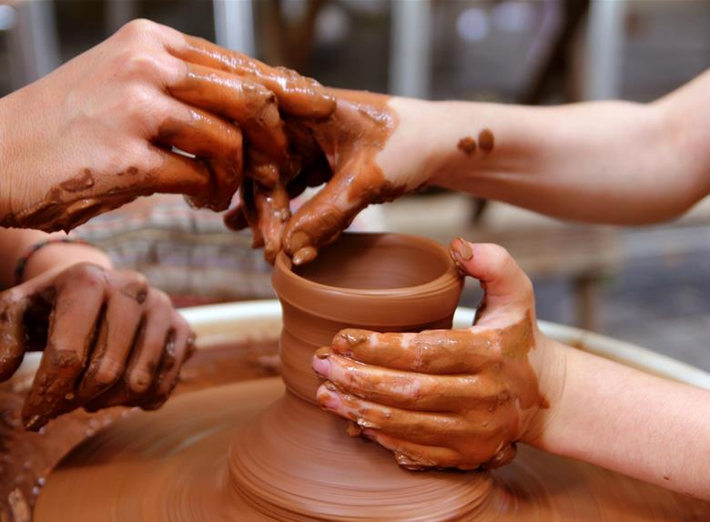 Pottery making classes in Bangalore