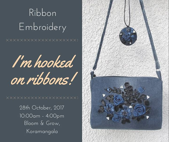 Ribbon Embroidery – Advanced course