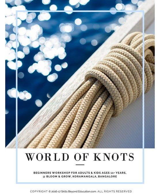 World of Knots (Survival Knots workshop for children)