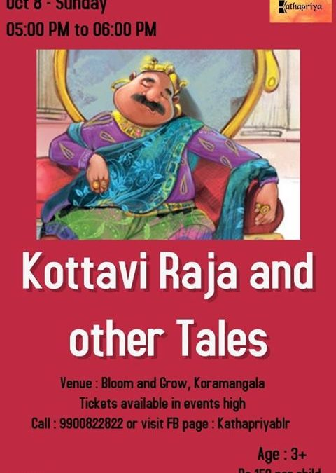 Kottavi Raja And Other Tales