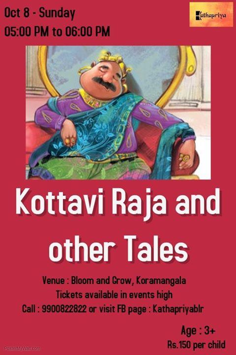 Storytelling for kids Kormangala Bangalore