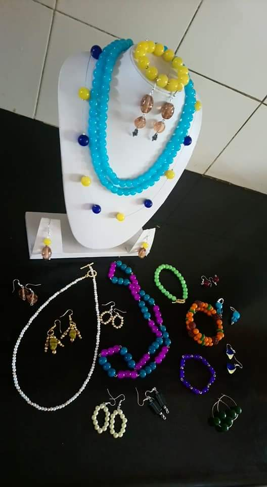 bead jewellery classes in banglore by Bloom and Grow