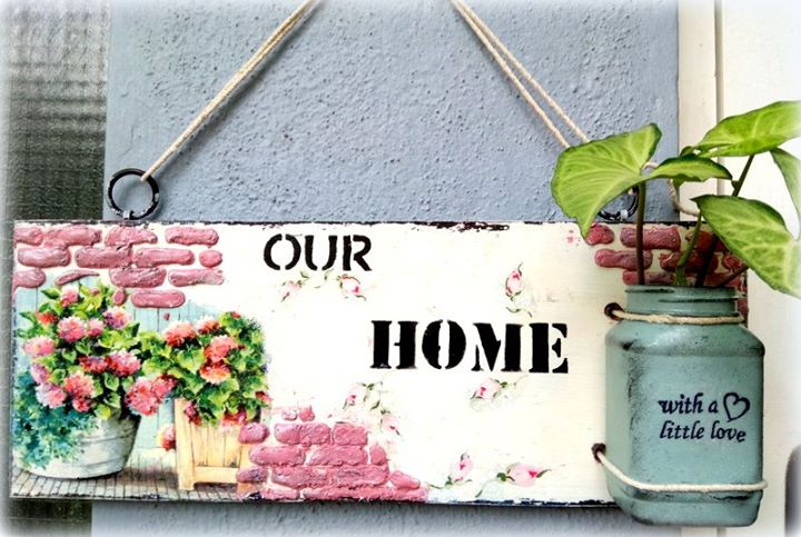 Mixed Media Beginner workshop – Make your name plate