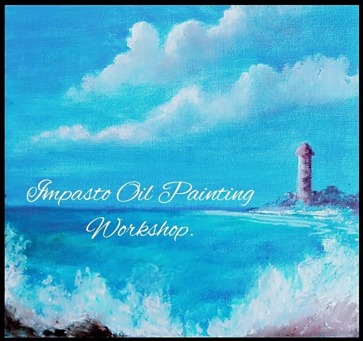 Impasto Oil Painting (Knife Painting) workshop in Bangalore