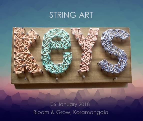 String Art workshop in Bangalore