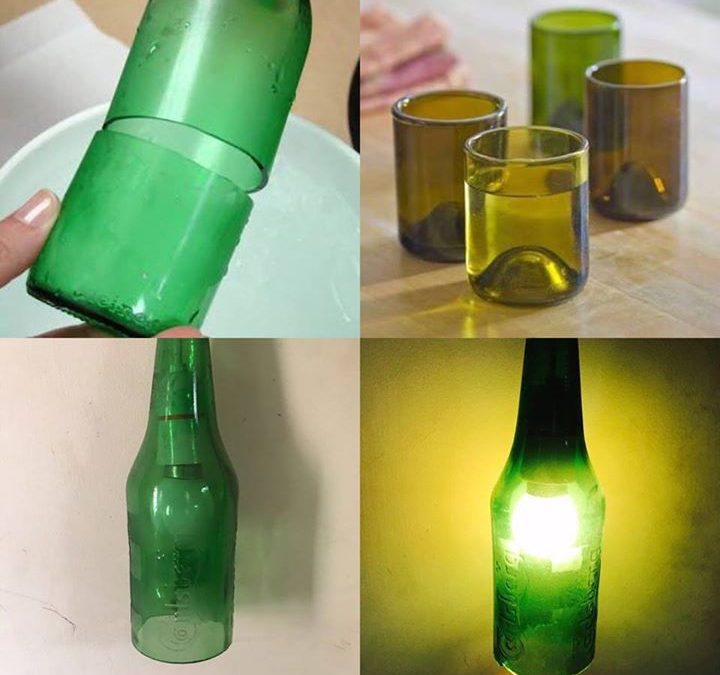 Bottle cutting and Lamp making workshop