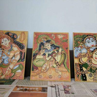 Kerala Mural Art