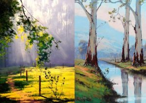 Oil Painting options