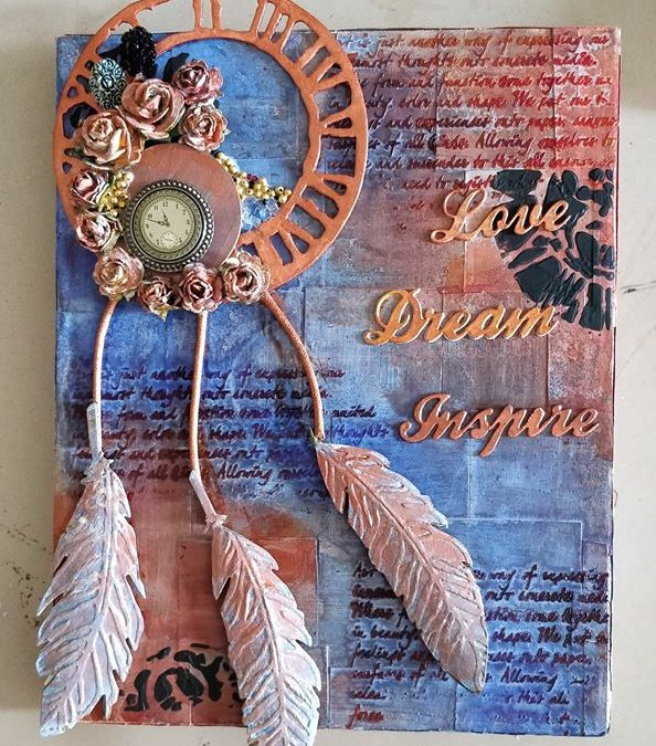 Mixed Media Canvas for beginners