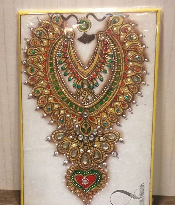 Meenakari Gold Painting 2-day Beginner workshop in Bangalore