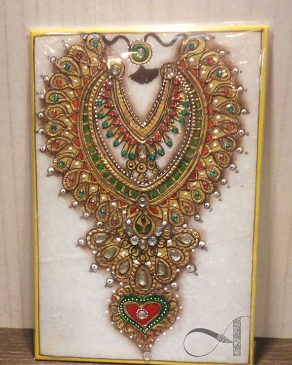 Meenakari Gold Painting workshop in Bangalore