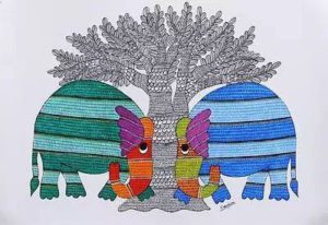Gond Art workshop in Bangalore