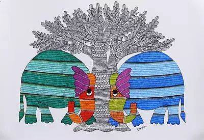 Gond Art – Two day workshop in Bangalore