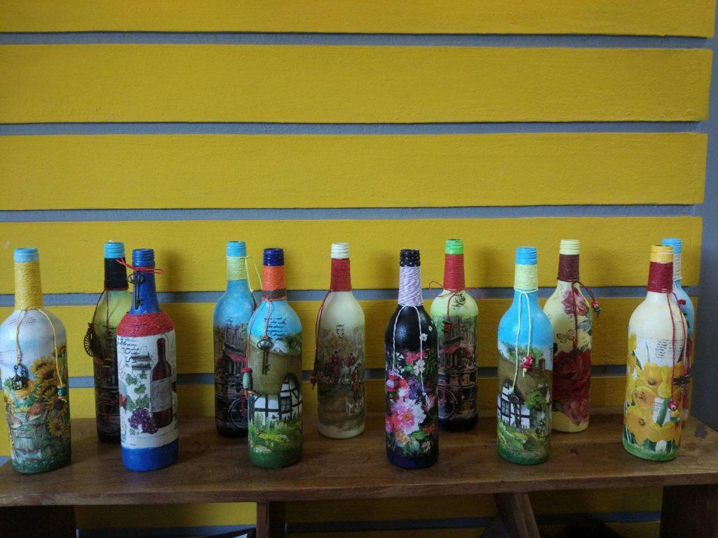 bottle art ,