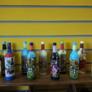 bottle art ,