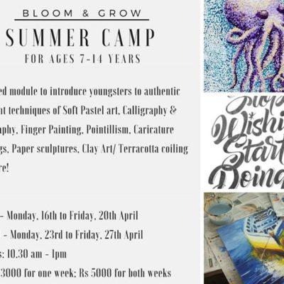 Art Summer camp in Koramangala
