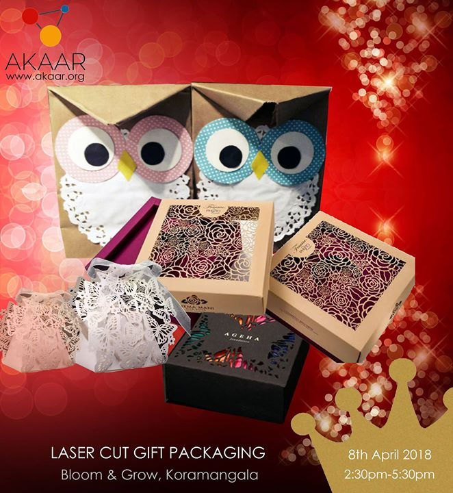 Laser Cut Gift Packaging