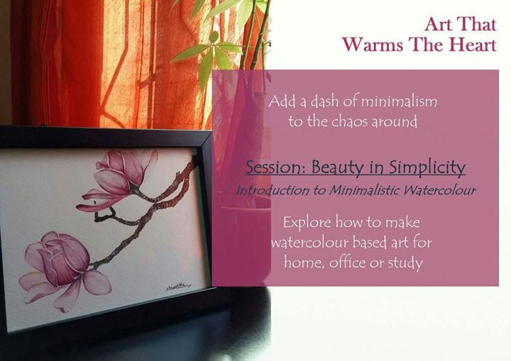 Introduction to Minimalistic Watercolour – Beginner workshop in Bangalore