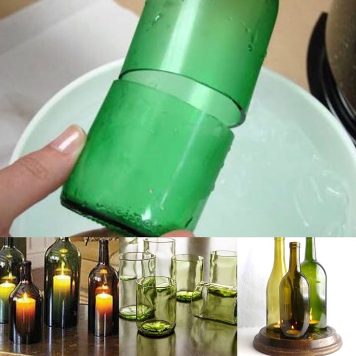 Glass Bottle Cutting & Lamp Making workshop for Beginners