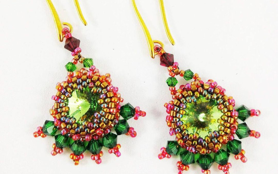 Bead Bezelling using Bead-weaving techniques – Beginner workshop