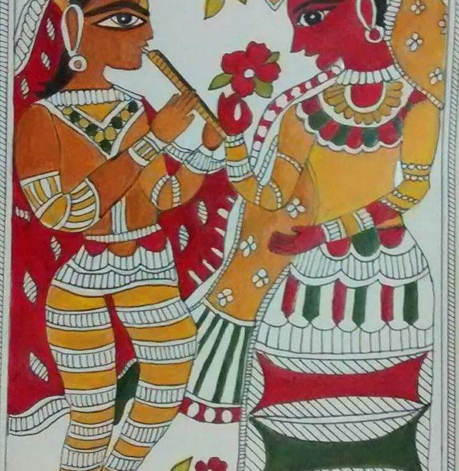 Madhubani workshop – Beginner workshop in Chennai