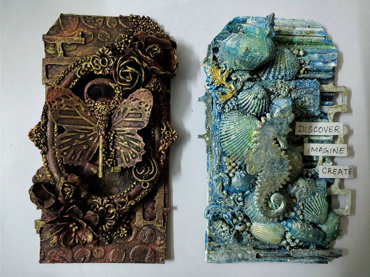 Mixed media workshop – Beginner workshop in Bangalore