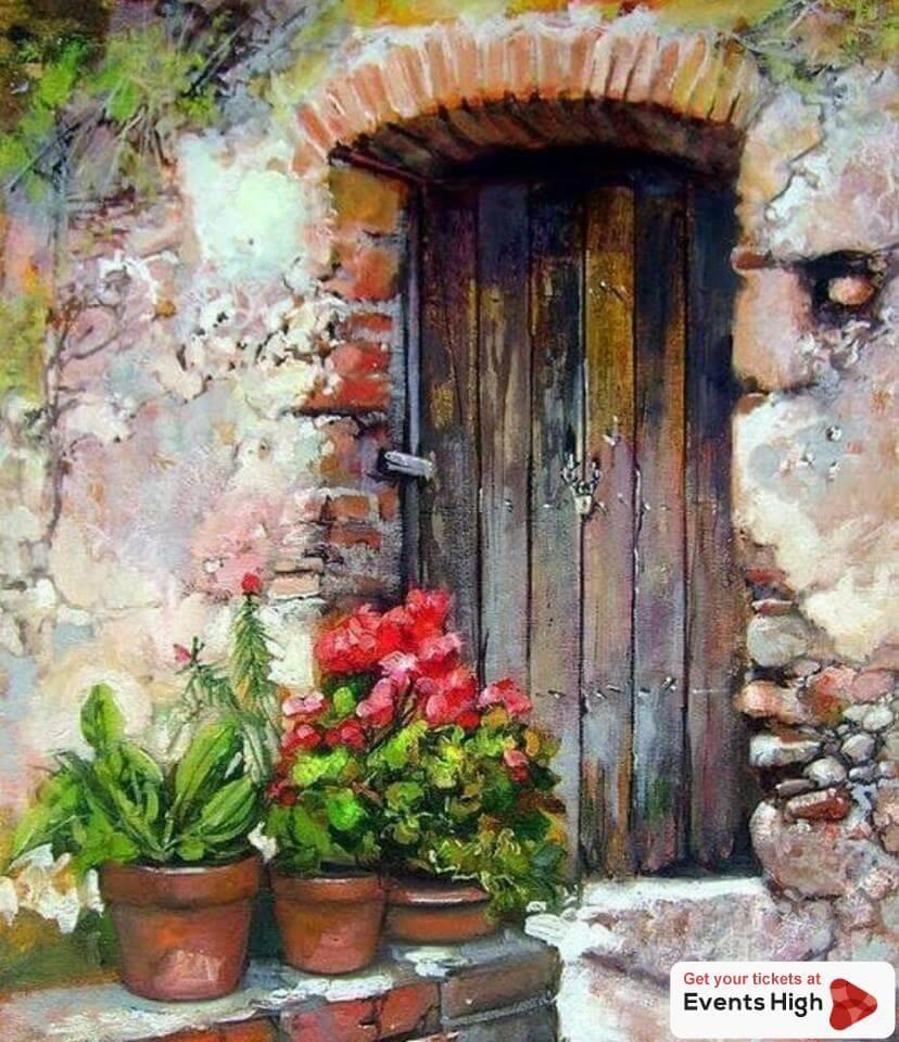 painting art, beginner workshop
