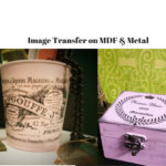 Image transfer on metal and MDF