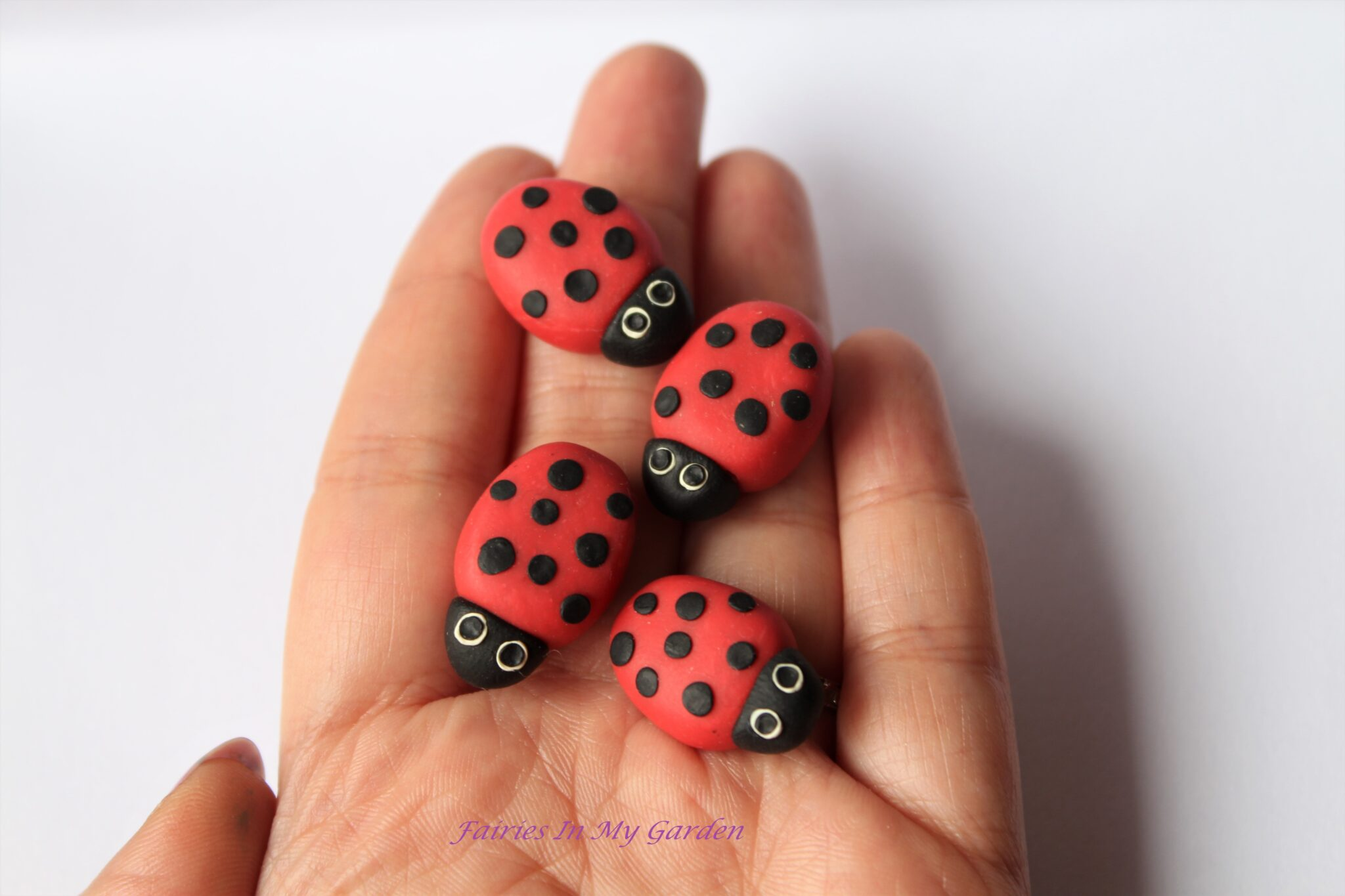 Polymer clay miniature