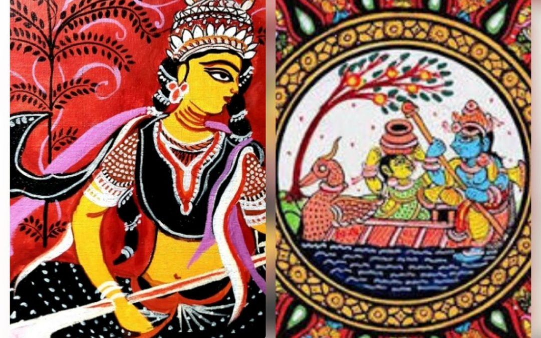Pattachitra traditional folk art workshop in Bangalore