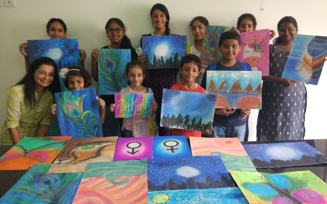 Art Classes for Children in Koramangala – Learn to Draw, Colour, and Paint